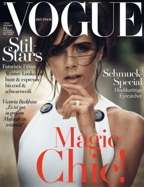 Victoria Beckham For VOGUE Germany 3