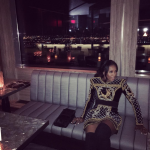 Celebrity Stylist Style: June Ambrose's Balmain x H&M Mini Dress