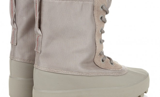 edd5067514ef3 Big Sean Spotted In A Pair Of Kanye West s YEEZY Season 1 Yeezy 950 Boots