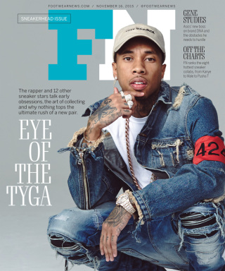 2445c06fa228 Fashionable Rapper Tyga For Footwear News  Opens Up About His Favorite  Sneakers – dmfashionbook.com