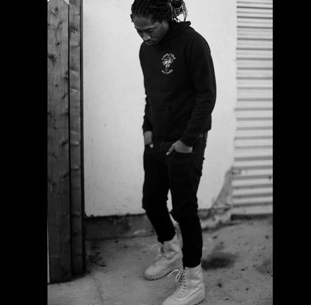 e6f3b41713ef6 Hip-Hop Star Future Spotted In A Pair Of Kanye West s YEEZY Season 1 ...
