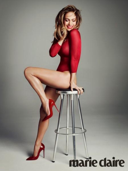 Jennifer Lopez For Marie Claire UK December 2015 3