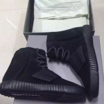 Kanye West's Close Friend Ibn Jasper Confirms That The All 'Black' adidas Yeezy 750 Boosts Are Fake