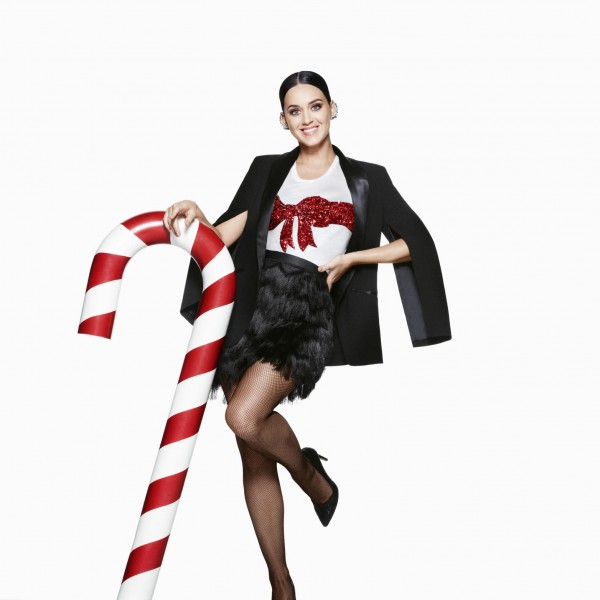 Katy Perry Stars In H&M's Holiday Campaign1