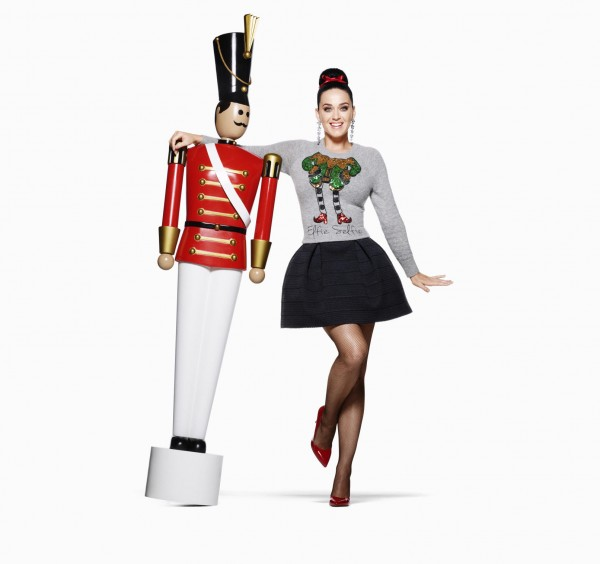Katy Perry Stars In H&M's Holiday Campaign2