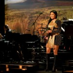 "Nicki Minaj Recites Maya Angelou's ""Still I Rise"" In A Balmain Embellished Velvet Dress"