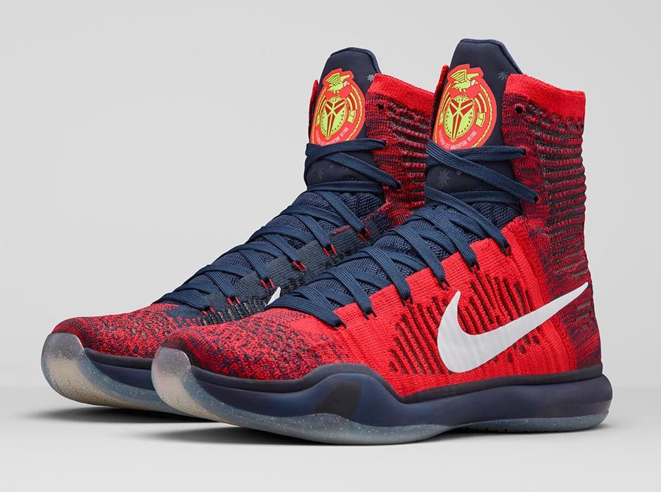 "e0ce2f003a3f Kicks Of The Day  Nike Kobe 10 Elite ""American"" – dmfashionbook.com"