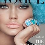 Vogue Italia November 2015: Gigi Hadid By Steven Meisel