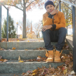 Fall Style: Diggy Simmons Wears A HÄVER Modern Bomber From The Arrivals & Timberland Boots