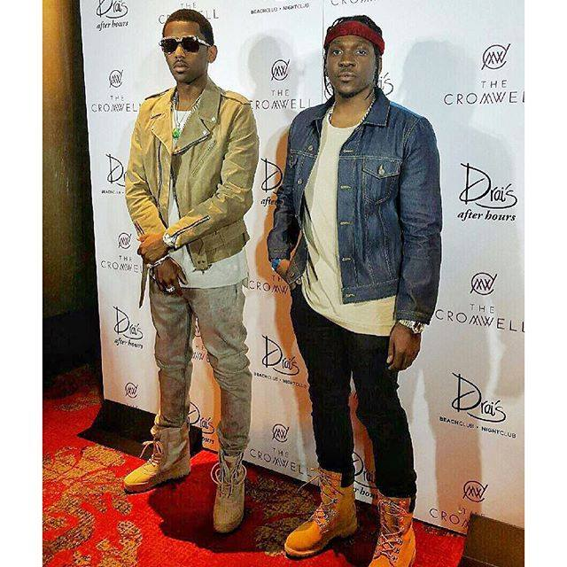 f24e57555515b Fabolous Performs In A Pair Of Kanye West s YEEZY Season 1 Yeezy 950 ...