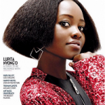 Actress Lupita Nyong'o Took A Slaycation For The Holidays On The Cover Of Rhapsody Magazine