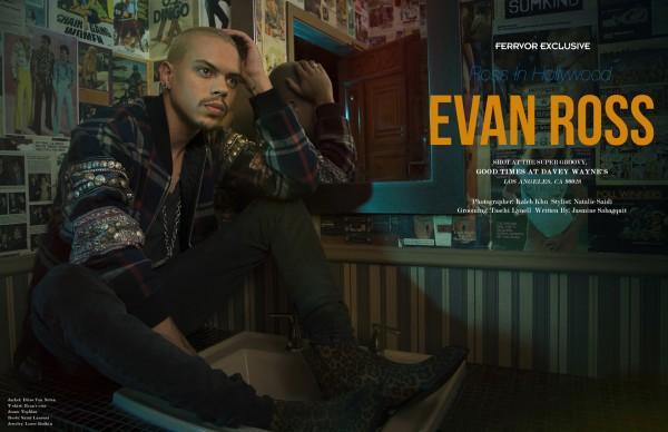 Evan Ross For Ferrvor Magazine1
