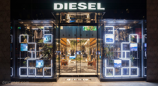 Fashion Brand Diesel Opens New Store In New York 1