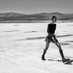 Fashion Model Liya Kebede For Porter Magazine's 'Winter Escape' Issue, Outfitted By George Cortina