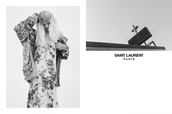 Hedi Slimane Unveils Saint Laurent Spring Summer 2016 Ad Campaign 1