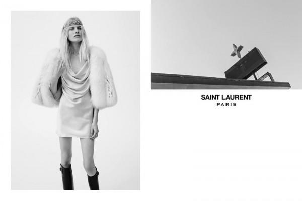 Hedi Slimane Unveils Saint Laurent Spring Summer 2016 Ad Campaign 2