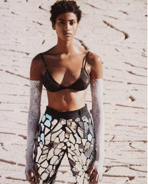 Imaan Hamman For Vogue US 1