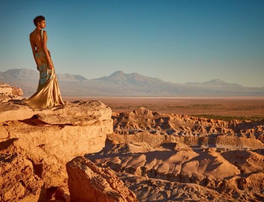 Imaan Hamman For Vogue US 2