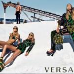 Versace's Spring/Summer 2016 Women's Ad Campaign: Gigi Hadid, Natasha Poly & Raquel Zimmermann