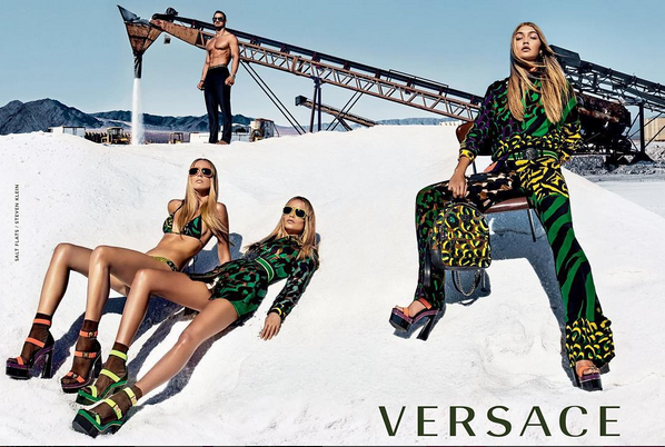 Versace's Spring Summer 2016 Ad Campaign2