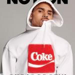 Chris Brown Covers Notion Magazine; Wears Joyrich
