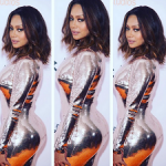Lala Anthony Looks Stunning In A $6,990 Tom Ford Sequined Tulle Dress At 'Chiraq' Premiere