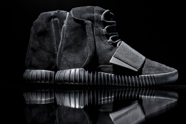 Black adidas Originals x Yeezy Boost 750 2
