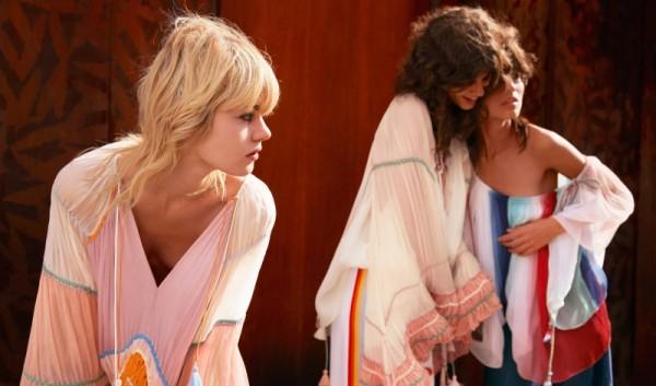 Chloé's Spring 2016 Ad Campaign Star Antonina Petkovic, Ilvie Wittek, Céline Bouly & Ari Westpha7