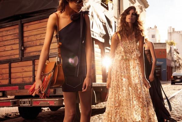 Chloé's Spring 2016 Ad Campaign Star Antonina Petkovic, Ilvie Wittek, Céline Bouly & Ari Westphal1