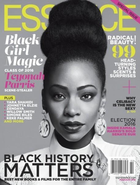 "Essence Magazine's First Ever #BlackGirlMagic Issue Featuring Yara Shahidi, Teyonah Paris & Johnetta ""Netta"" Elzie1"