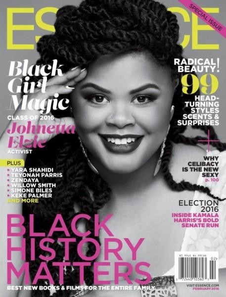 "Essence Magazine's First Ever #BlackGirlMagic Issue Featuring Yara Shahidi, Teyonah Paris & Johnetta ""Netta"" Elzie2"