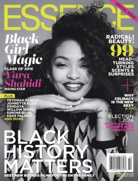 "Essence Magazine's First Ever #BlackGirlMagic Issue Featuring Yara Shahidi, Teyonah Paris & Johnetta ""Netta"" Elzie3"