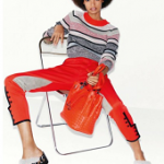 Fashion Model Malaika Firth For The February 2016 Issue Of Vogue Paris