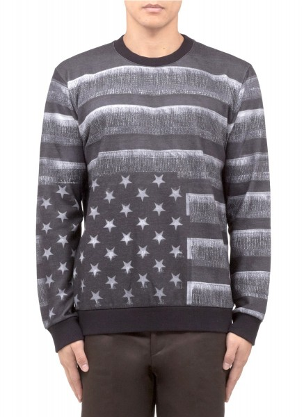 Givenchy American Flag-print Sweater1