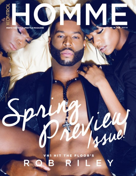 Hits The Floor's Rob Riley Covers Kontrol Homme Magazine 1