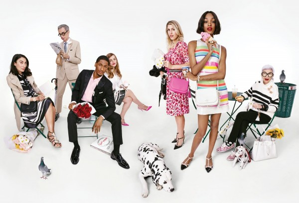 Jourdan Dunn And A Diverse Group Of Models For Kate Spade's Spring 2016 Campaign 3