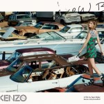 Kenzo's Spring/Summer 2016 Ad Campaign Starring Abbey Lee Kershaw & Cameron Gentry