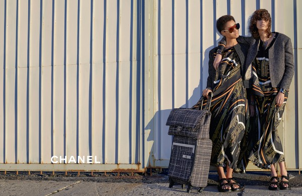 Lineisy Montero And Mica Arganaraz Front Chanel's Spring 2016 Ad Campaign10