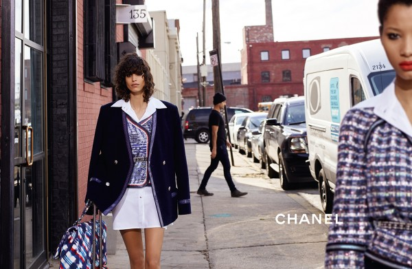 Lineisy Montero And Mica Arganaraz Front Chanel's Spring 2016 Ad Campaign11