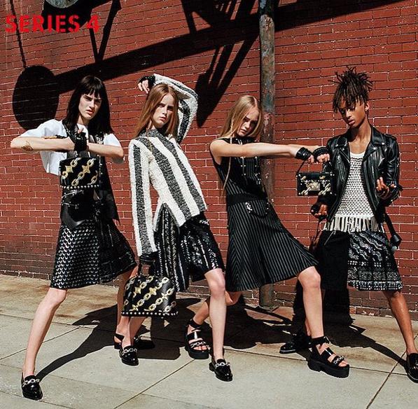 Male Actor Jaden Smith Stars In Louis Vuitton's Womenswear Campaign 4