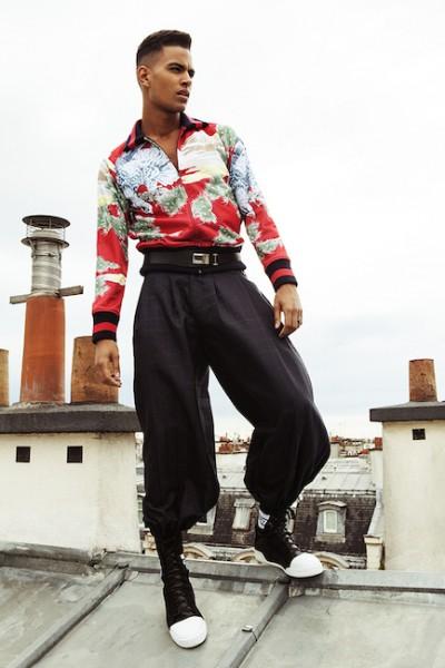 Model Terence Telle For L'Officiel Hommes China2
