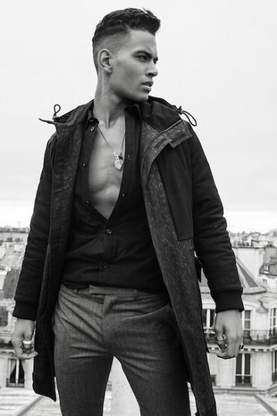 Model Terence Telle For L'Officiel Hommes China3