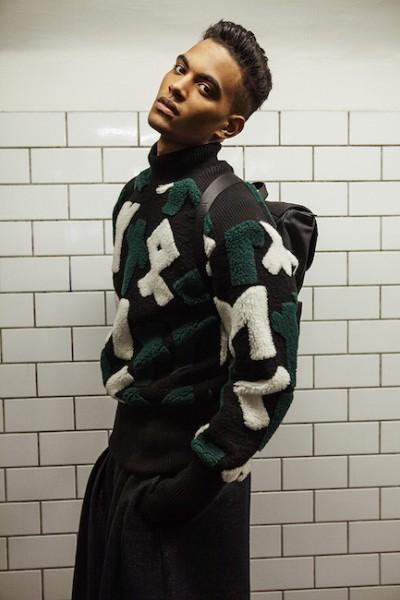 Model Terence Telle For L'Officiel Hommes China5