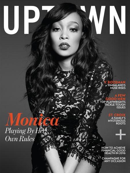 Monica For UPTOWN Magazine 1