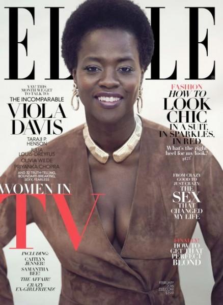 Taraji P. Henson & Viola Davis For ELLE's February 2016 'Women In TV' Issue 2