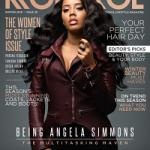 Rising Fashion Mogul Angela Simmons Covers Kontrol Magazine's 'Woman Of Style' Issue