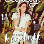 February 2016 Issue: Model Kendall Jenner For Candy Philippines Magazine
