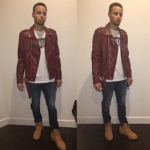 Fast Fashion For Less: Step Curry's Zara Leather Biker Jacket