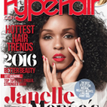 Hype Hair Magazine Jan/Feb 2016: Janelle Monáe Shows Off Her Natural Beauty
