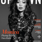 Monica Brown For UPTOWN Magazine: Styles In Stella McCartney & Donna Karen; Plus She Talks About Being Karl Lagerfeld's Muse